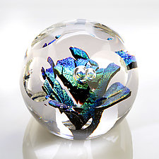 Fractured by Benjamin Silver (Art Glass Paperweight)