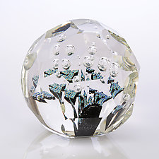 Ocean's Fault by Benjamin Silver (Art Glass Paperweight)