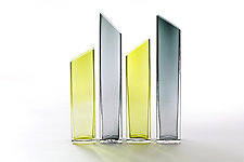 Tower City by Benjamin Silver (Art Glass Vases)