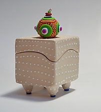 White Box by Vaughan Nelson (Ceramic Box)