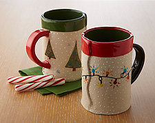 Holiday Mugs by Vaughan Nelson (Ceramic Mug)