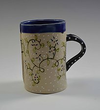 Botanical Mug by Vaughan Nelson (Ceramic Mug)