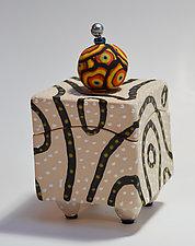 Blackline Box by Vaughan Nelson (Ceramic Box)