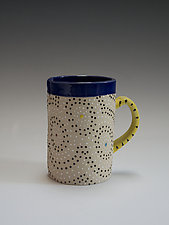 Circle Mug by Vaughan Nelson (Ceramic Mug)
