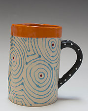 Aqua Optix Mug by Vaughan Nelson (Ceramic Mug)