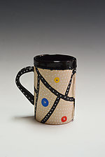 Linear Mod Mug by Vaughan Nelson (Ceramic Mug)