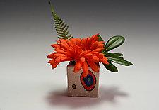 Circle Circle Ikebana by Vaughan Nelson (Ceramic Vase)