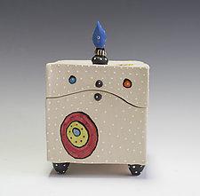 Circle Circle Box by Vaughan Nelson (Ceramic Box)