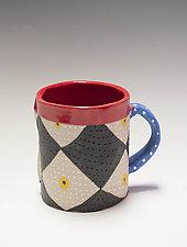 Harlequin Mug by Vaughan Nelson (Ceramic Mug)