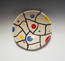 Linear Mod Bowl by Vaughan Nelson (Ceramic Bowl)