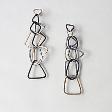 Gold Shape Earrings by Kendra Renee (Gold & Silver Earrings)