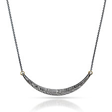 Woven Silver Necklace by Kendra Renee (Silver Necklace)