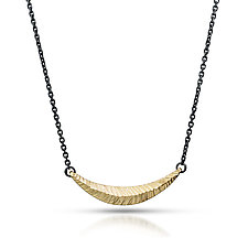Woven Gold Necklace by Kendra Renee (Gold & Silver Necklace)