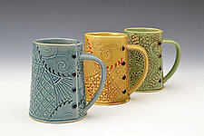 Coffee and Tea Mug by Charan Sachar (Ceramic Mug)