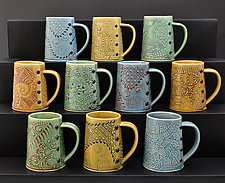 Coffee and Tea Mug by Charan Sachar (Ceramic Mug)