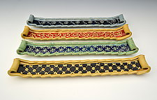 Hors d'Oeuvres Trays by Charan Sachar (Ceramic Tray)