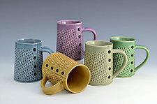 Knitted Mugs by Charan Sachar (Ceramic Mug)