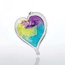 Love, Sweet Love by Luke Adams Glass (Art Glass Ornament)