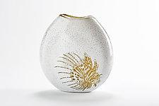 Lionfish Vase by Jennifer Caldwell (Art Glass Vase)