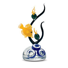 Tang by Jennifer Caldwell (Art Glass Sculpture)