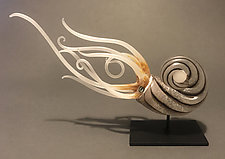 Dusk by Jennifer Caldwell (Art Glass Sculpture)
