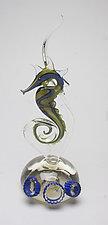 Royal Horse by Jennifer Caldwell (Art Glass Sculpture)