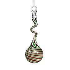 Christmas Spirit by Jason  Probstein (Art Glass Ornament)