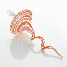 Flamingo by Jason  Probstein (Art Glass Ornament)