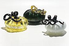 Pumpkins by Christian Turiello (Art Glass Sculpture)