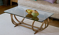 Stretch XO Table by Derek Hennigar (Wood Coffee Table)