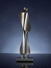 Quiet Encounter by Boris Kramer (Steel Sculpture)