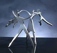 Dancing Family by Boris Kramer (Metal Sculpture)
