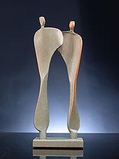 Partners in Copper by Boris Kramer (Copper Sculpture)