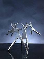 Dancing Family by Boris Kramer (Metal Sculpture)