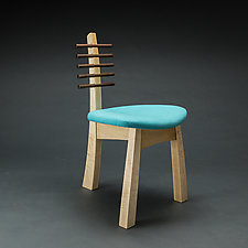 Tripod Chair by Todd  Bradlee (Wood Chair)