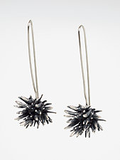 Seagrass Dangles by Lisa  Cimino (Silver Earrings)