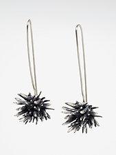 Seagrass Dangles by Lisa  Cimino (Silver Earrings)