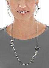 Pod Vine with Flying Bird Jewelry by Lisa  Cimino (Silver Jewelry)