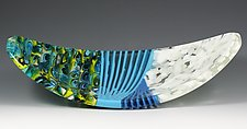 Abaco by Pamela Rice (Art Glass Tray)