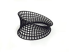 Bent Grid Bangle by Maria  Eife (Nylon Bracelet)