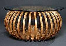 Torus Table by Reid Anderson (Wood Coffee Table)