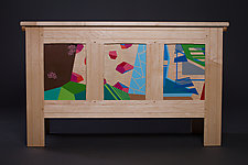 Modern Blanket Chest II by Reid Anderson (Wood Chest)