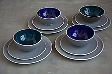 12 Piece Baba Tableware by Robert Siegel (Ceramic Dinnerware)