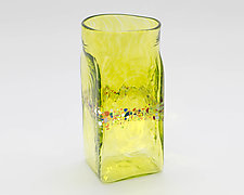 Square Glass by Bryan Goldenberg (Art Glass Drinkware)