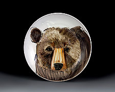 Bear Bowl by Eileen de Rosas (Ceramic Bowl)