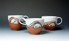 The Three Graces by Eileen de Rosas (Ceramic Mug)