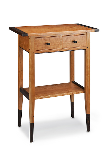Cherry Two Drawer Hall Table