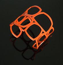 Frames Cuff Bracelet by Melissa Stiles (Steel Bracelet)