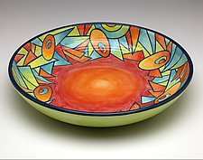 Deco Garden by Rod  Hemming (Ceramic Bowl)