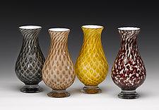 Vintage Series Teardrop Vase by Jacob Pfeifer (Art Glass Vase)